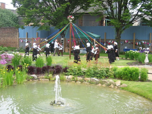 May Fest at Red Cross Garden