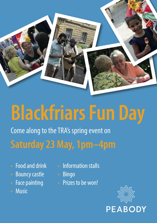 Blackfriars Fun Day at Peabody Blackfriars Road Estate