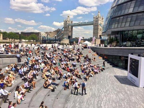 The Imitation Game at The Scoop at More London