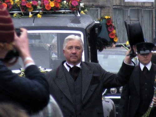 Funeral of Barry Albin-Dyer at