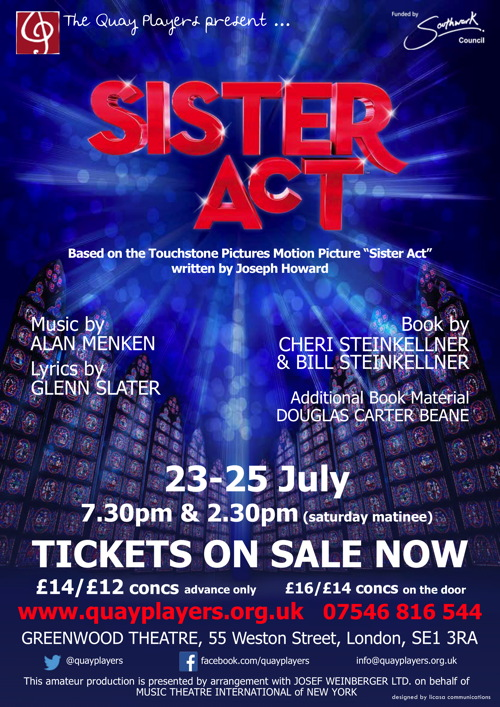 Sister Act at Greenwood Theatre