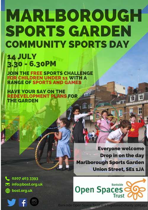 Community Sports Day & Consultation at