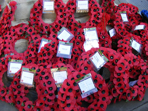 Remembrance Sunday Wreath-Laying Ceremony at Borough War Memorial