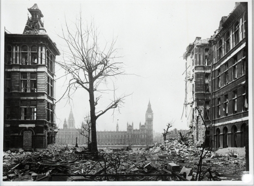 75th Anniversary of the Bombing of St Thomas' Hospital at St Thomas' Hospital