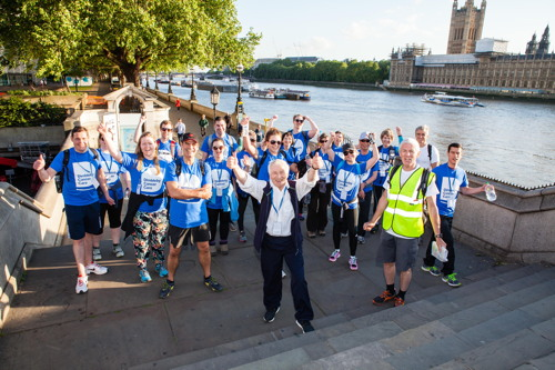 Dimbleby Cancer Care Walk50 at St Thomas' Hospital