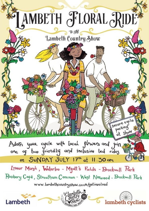 Lambeth Floral Ride at