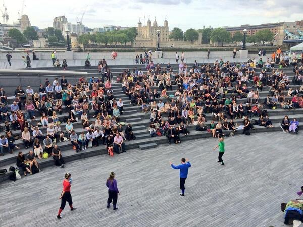 Free Open-Air Theatre Season 2016 at The Scoop at More London