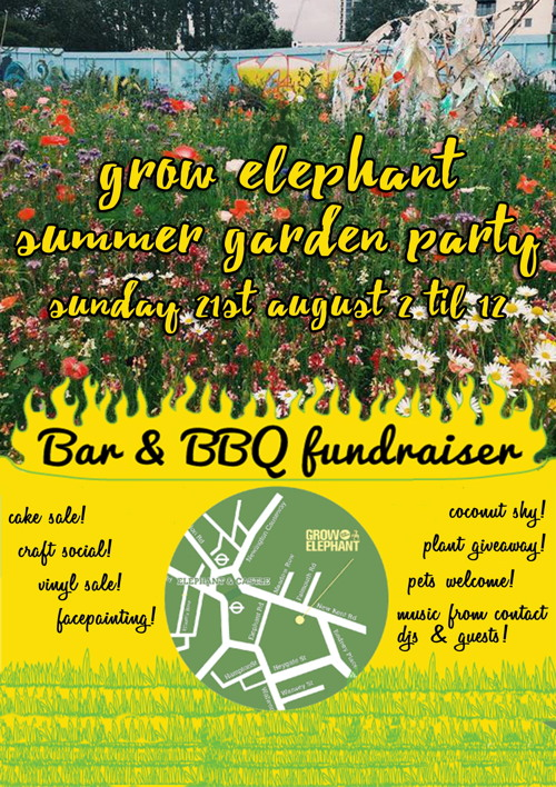 Summer Garden Party at Grow Elephant
