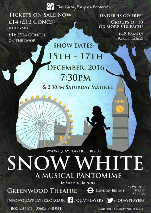 Snow White at Greenwood Theatre