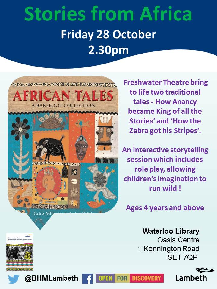 Stories from Africa at Waterloo Library