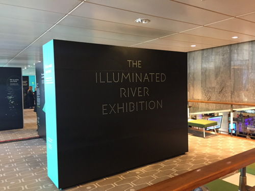 The Illuminated River Exhibition at Royal Festival Hall