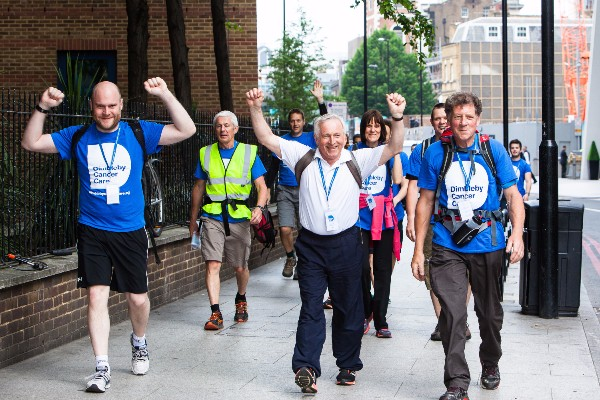 Dimbleby Cancer Care's Walk50 challenge at