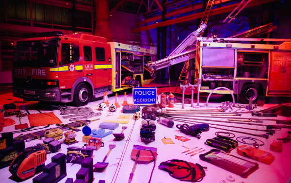 London Fire Brigade Pop Up Museum Easter Workshop at The Workshop