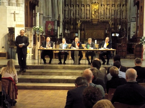 Bermondsey & Old Southwark General Election Hustings at Southwark Cathedral