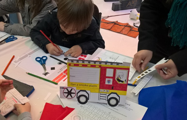 London Fire Brigade Museum Family Activity Day at