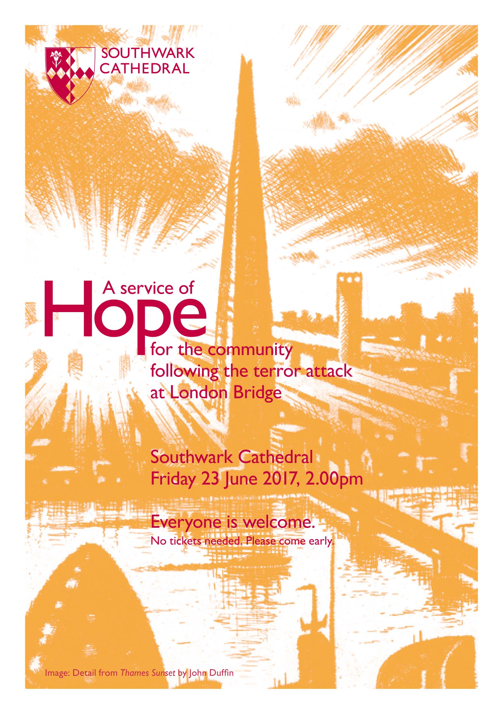 A Service of Hope at Southwark Cathedral