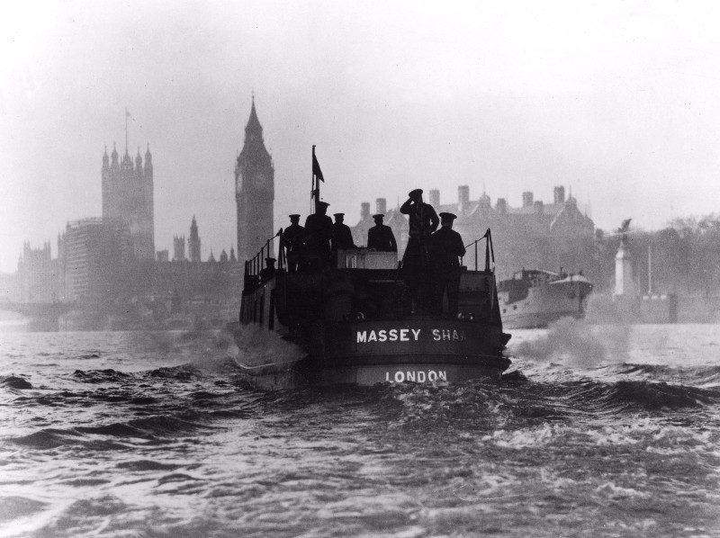 The Massey Shaw fireboat and the 'Little Ships' at