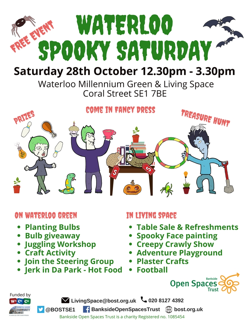 Waterloo Spooky Saturday at