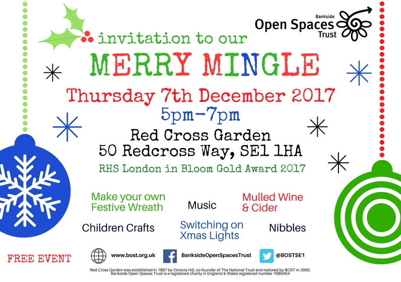 Merry Mingle at Red Cross Garden