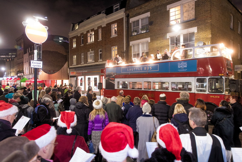 HARK! Waterloo Christmas Singalong at Lower Marsh