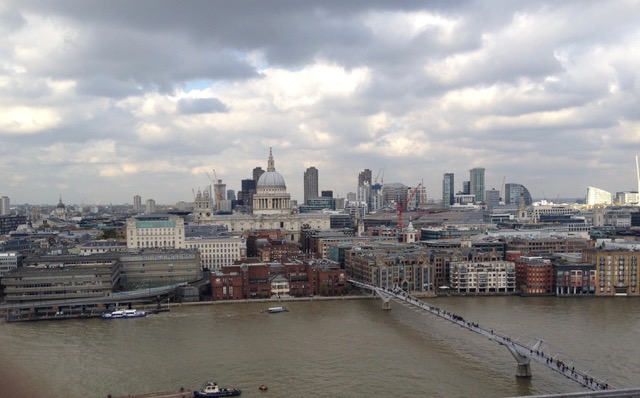Drawn to the Skyline at Tate Modern