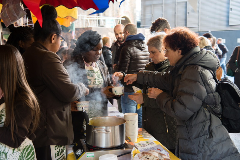 Winter Soup Sale at Borough Market