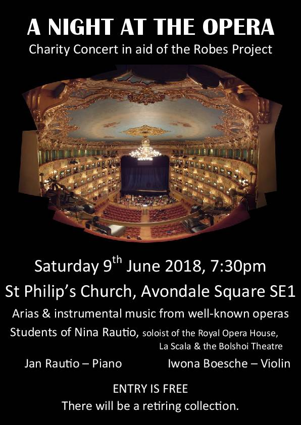 A Night at the Opera at St Philip's Camberwell