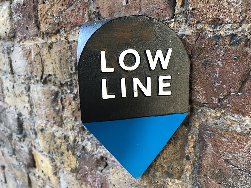 Walk the Low Line at Southwark Underground Station
