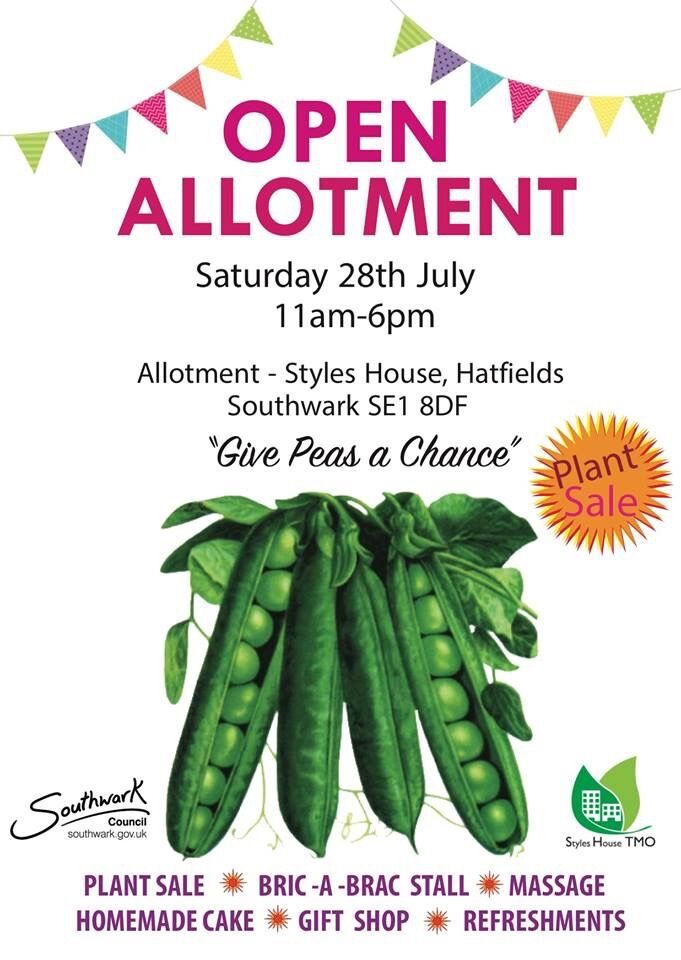 Open Allotment at Styles House gardens