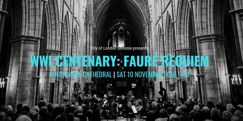 War Centenary Faure Requiem at Southwark Cathedral
