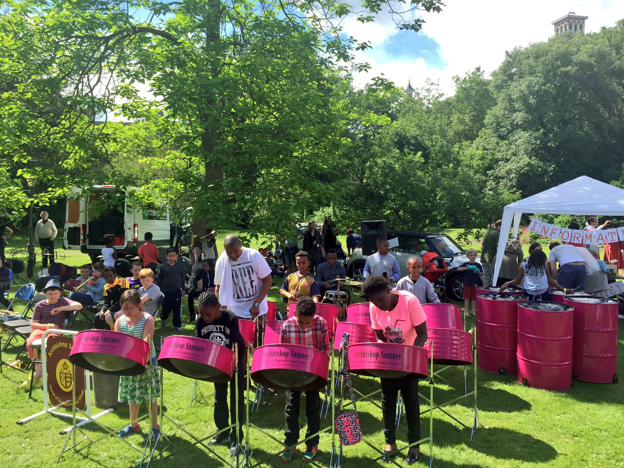 North Lambeth Parish Fete at Lambeth Palace