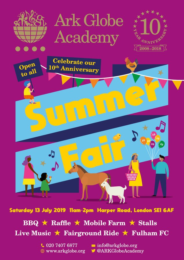 Summer Fair at Globe Academy