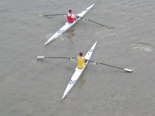 Doggett's Coat & Badge Race at River Thames